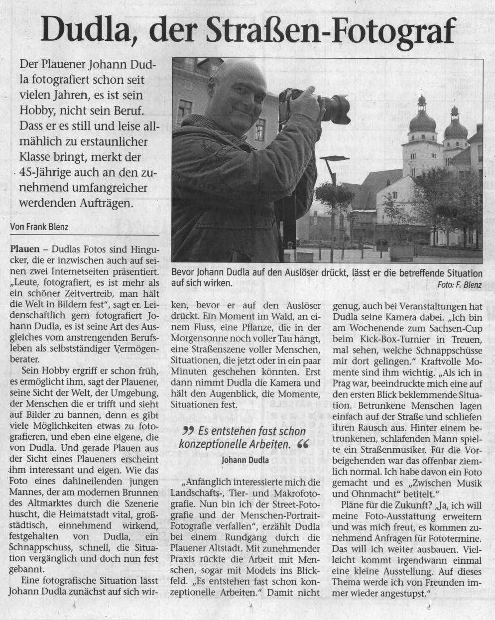 Presseartikel-Dudla